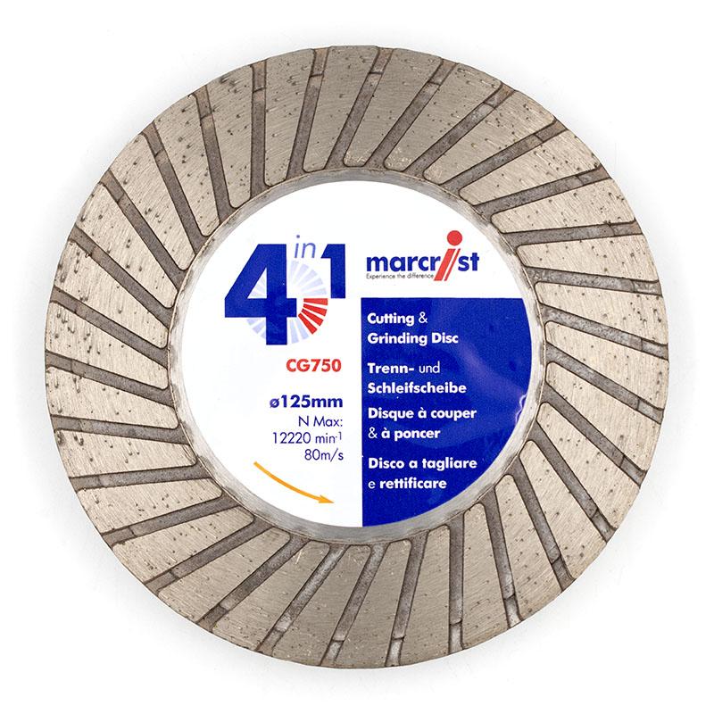 Marcrist 125mm CG750 Cutting & Grinding Blade 2350.0125.14