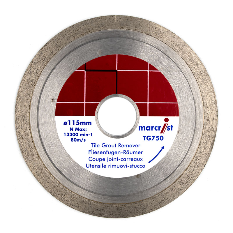 Marcrist TG750 Grout Removing Blade 1983.0115.22