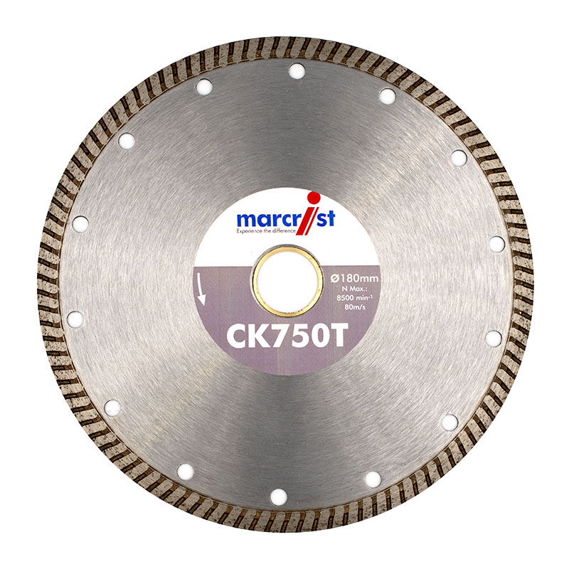 ALL SIZES Cuts All Tiles Marcrist CK750T Turbo Fast Cut Tile Blade