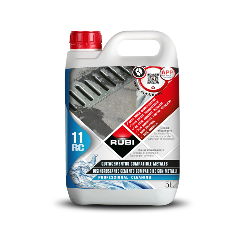 Rubi RC-11 Cement Remover 5L (Metal Safe) 22951