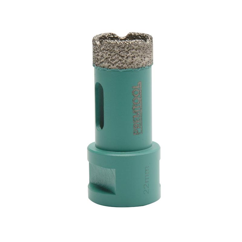 Pro Tiler Dry Cut M14 Diamond Hole Cutter - 22mm