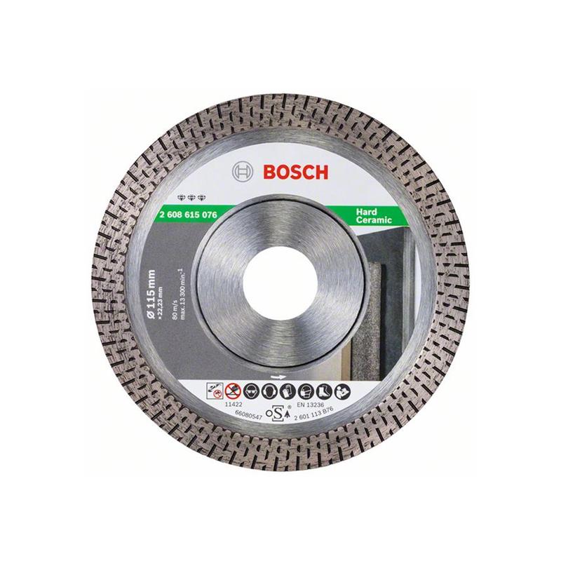 Bosch Dry & Clean Cut Diamond Angle Grinder Blade 115mm 2608615076