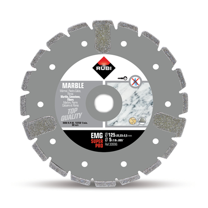 Rubi EMG Electroplated marble diamond blade 230mm - 30997