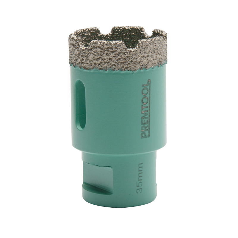 Pro Tiler Dry Cut M14 Diamond Hole Cutter - 35mm