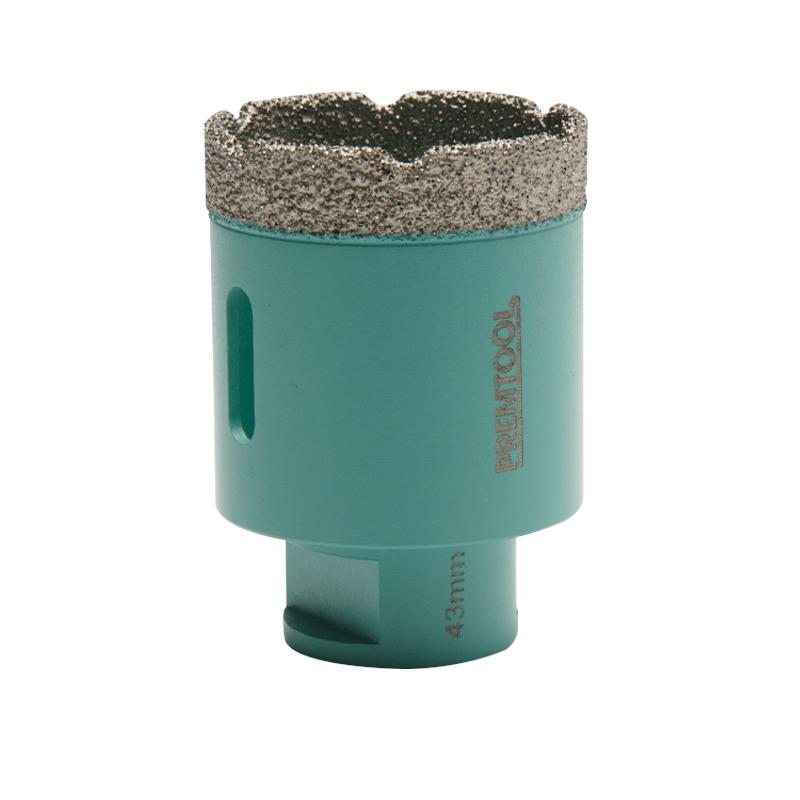 Pro Tiler Dry Cut M14 Diamond Hole Cutter - 43mm