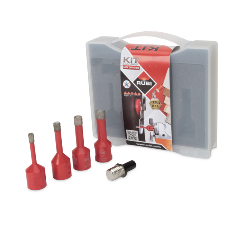 Rubi Dry Cut 5 Piece Mini Diamond Hole Cutter Set 50938