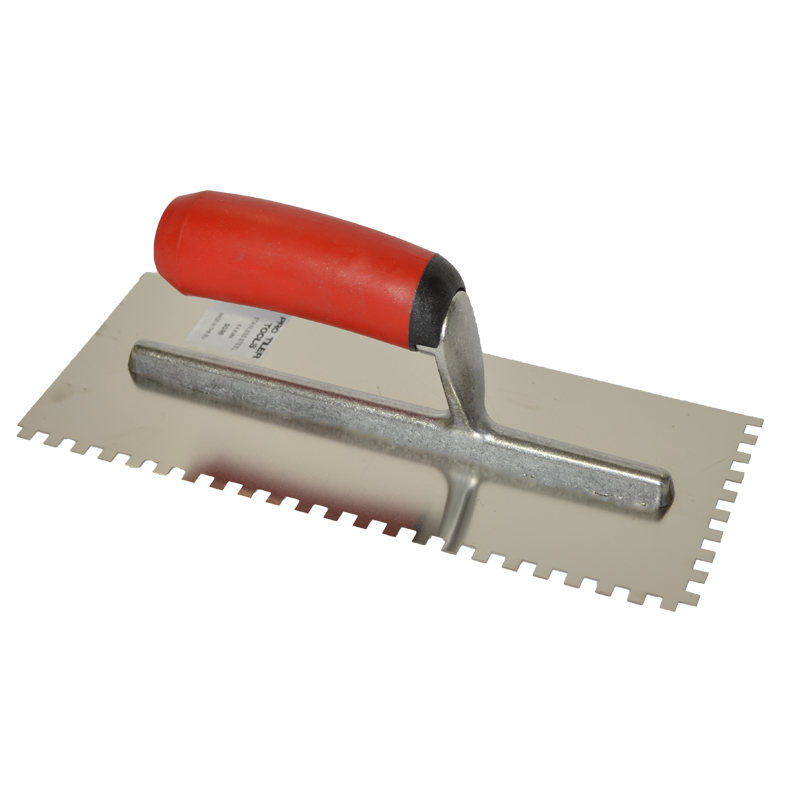 PTT Softgrip Handle Stainless Steel Trowel 3mm R/H SGR3
