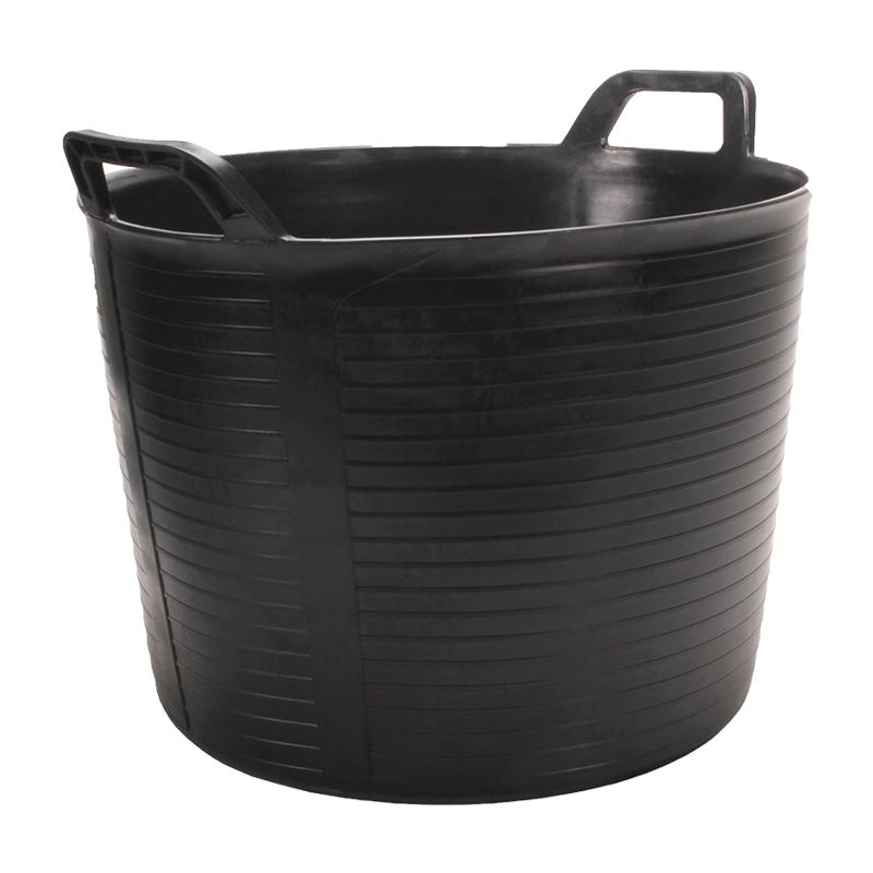 Rubi Black Plastic Trug 40 Litre 88773