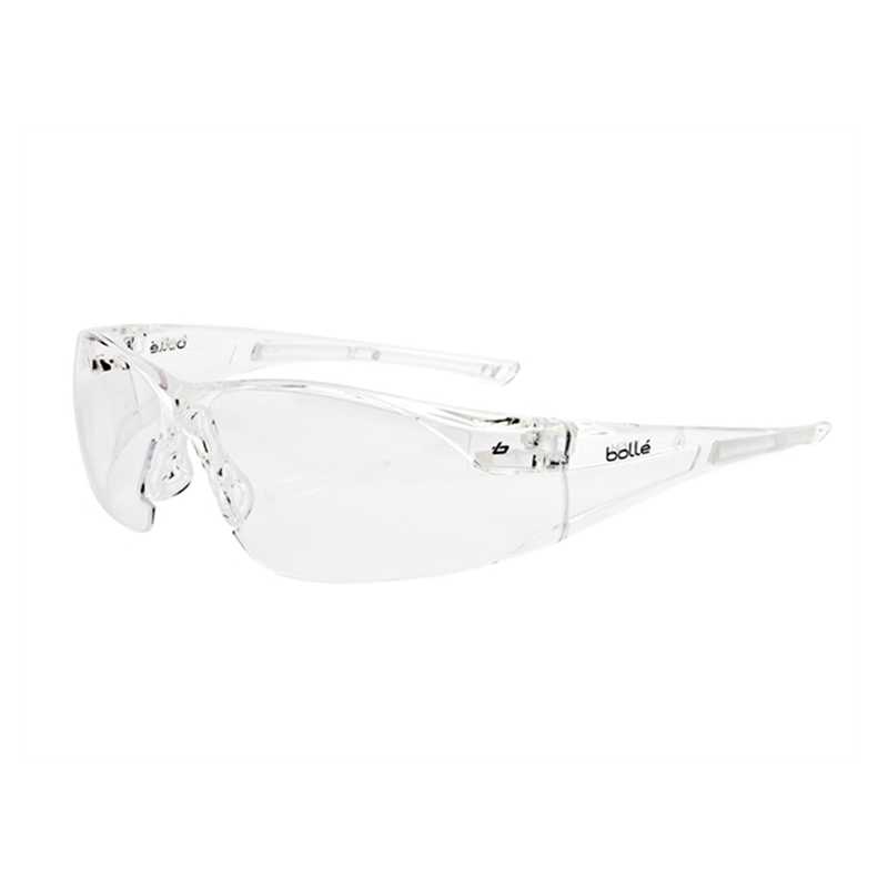 Bollé Safety Rush Safety Glasses - Clear