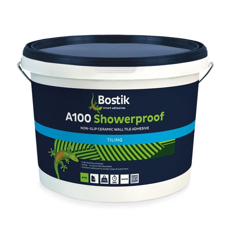 Bostik Showerproof Wall Tile Adhesive 15ltr 31showere