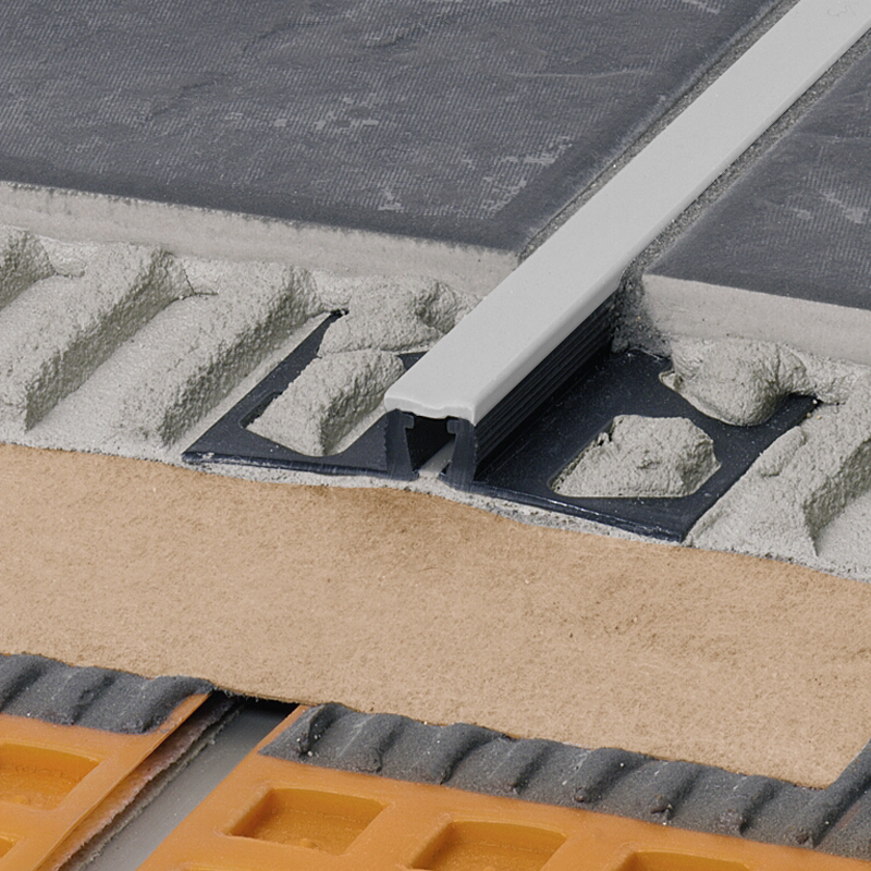 Schluter DILEX-BWB PVC Expansion Joint (Pastel Grey Insert) 2.5m Length