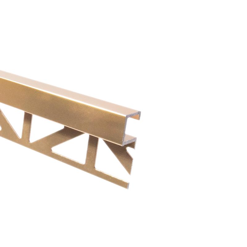 Dural Warm Copper Square Edge Tile Trim 11mm DPSAE 2.5m Length