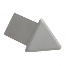 2 pack Genesis Matt Silver Metal Round Edge External Corners EAC 8mm 15mm