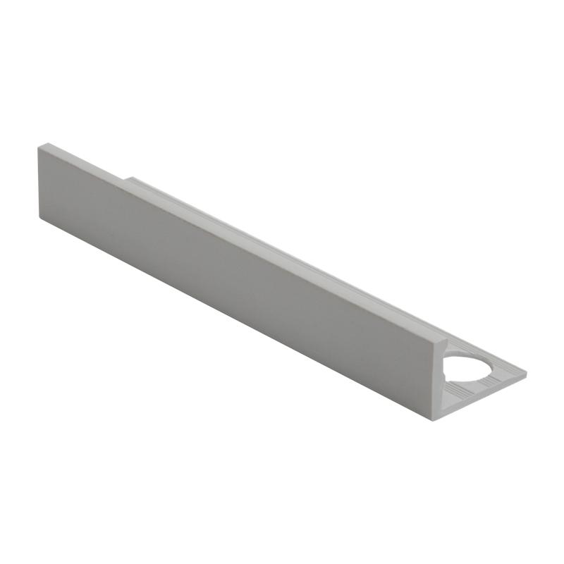 8mm Esp080 11 Genesis Plastic Straight Edge Tile Trim
