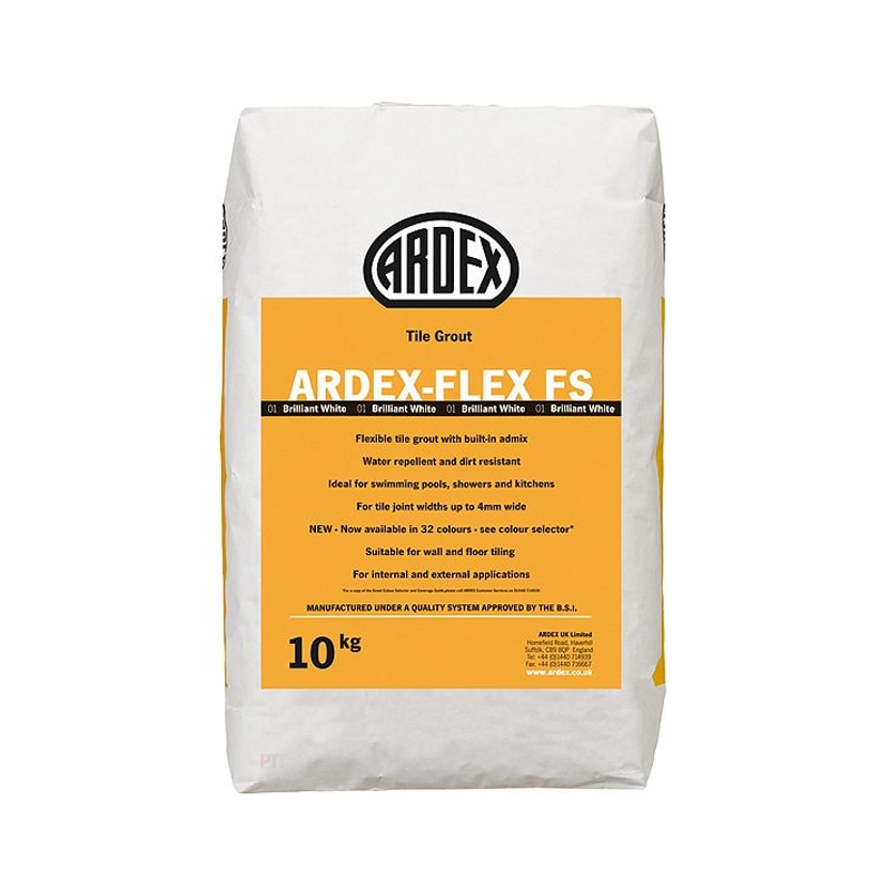 Ardex-Flex FS Flexible Wall & Floor Grout Narrow Joint 10kg (Multiple Colours Available)
