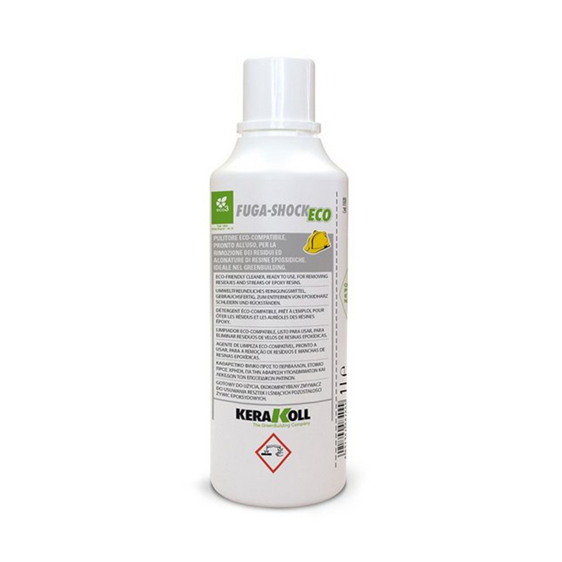Kerakoll Fuga-Shock Eco Epoxy Resin Residue Cleaner 1.0Ltr (Up To 6 Months)