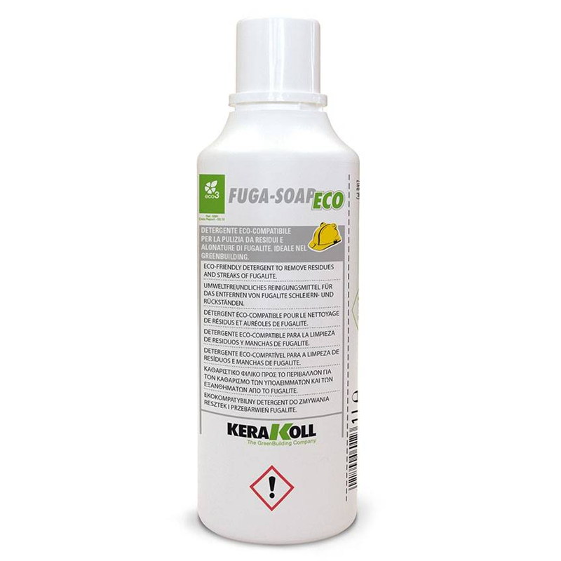 Kerakoll Fuga-Soap Eco Epoxy Residue Remover 1.0ltr (After 24 Hours)