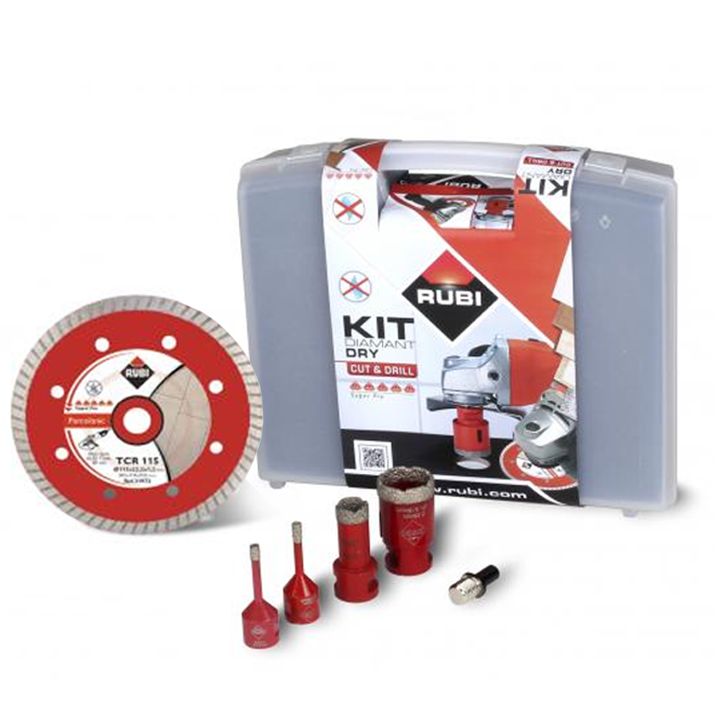 Rubi Dry Cut Bathroom Diamond Hole Cutter Set 68923