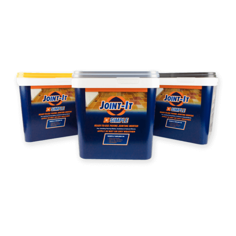 Joint-It Simple Ready to use Paving Jointing Mortar 20kg Tub (Choice of Colour)