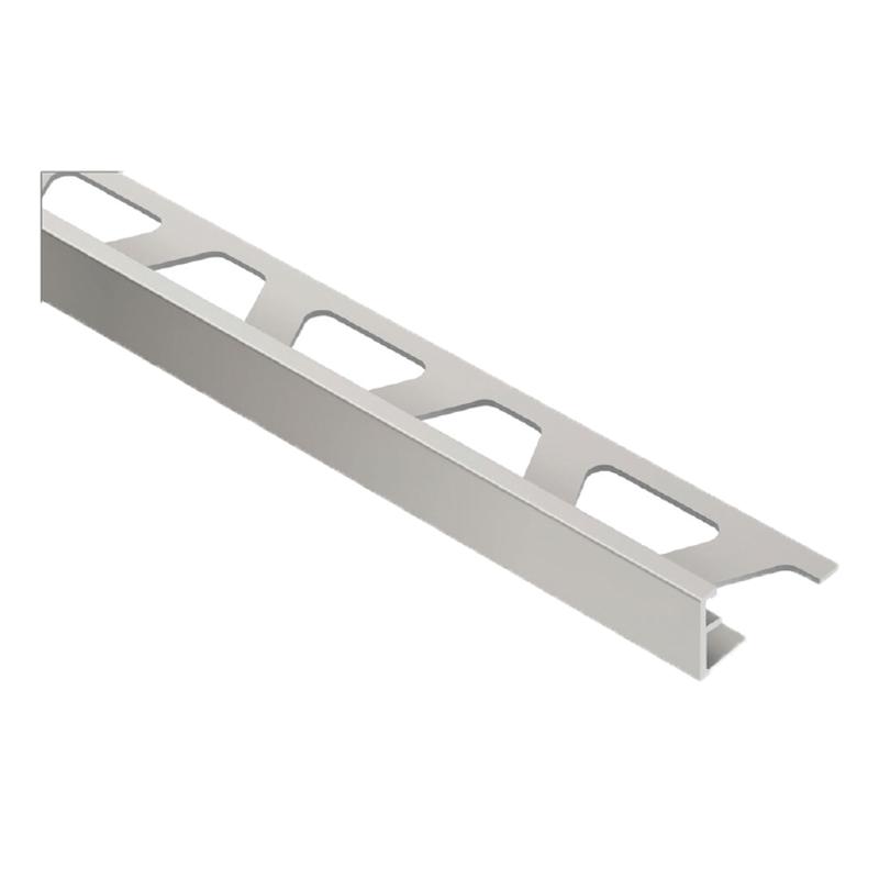 Schluter Jolly At Straight Edge Matt Titanium Anodised Aluminium 2 5m Length Buy Metal Straight Edge Tile Trim Online From Pro Tiler Tools