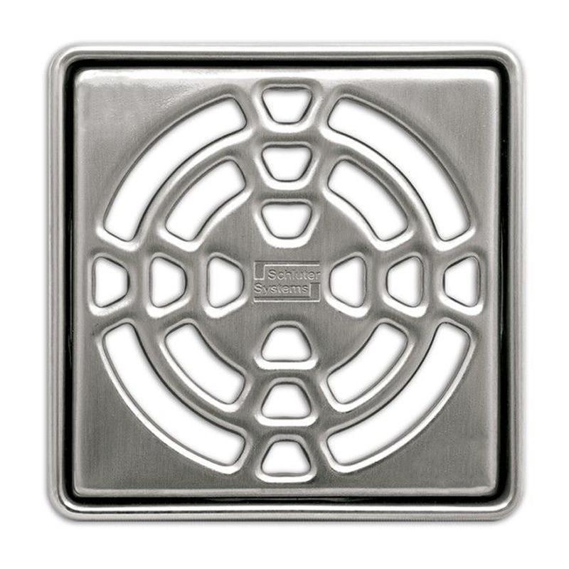 Schluter KERDI-DRAIN Stainless Steel No Screws Grate Design 1