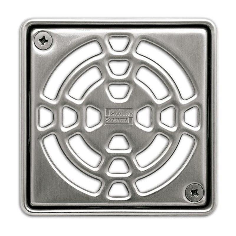 Schluter KERDI-DRAIN Stainless Steel Grate Design 1 10cm x 10cm