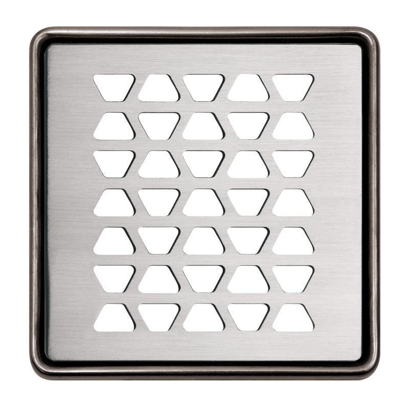 Schluter KERDI-DRAIN Brushed Stainless Steel Grate Design 2
