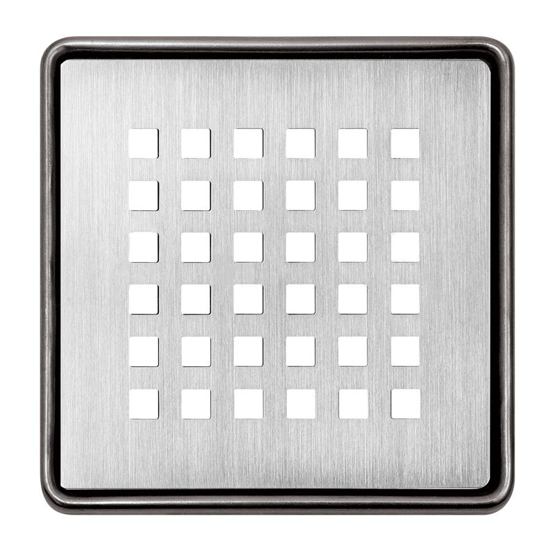 Schluter KERDI-DRAIN Brushed Stainless Steel Grate Design 3