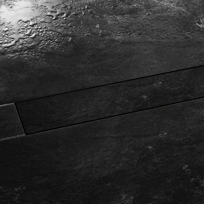Schluter KERDI-LINE-D Frameless Design Stainless Steel Tile In Design