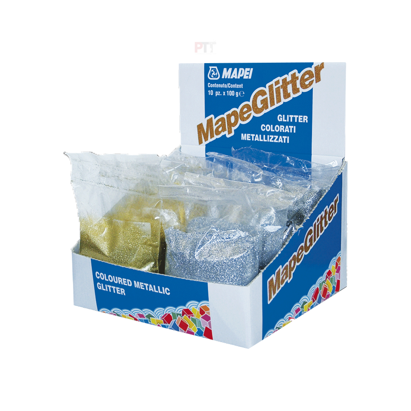 Mapei Mapeglitter 100g Sachet (Choice Of Colour)