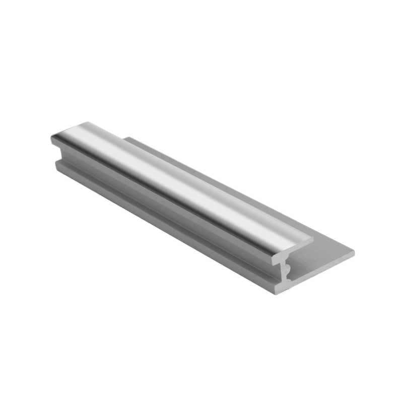 Genesis Bright Silver Wet Panel Trim Base Seal PBA 2.4m Length (choice of sizes)