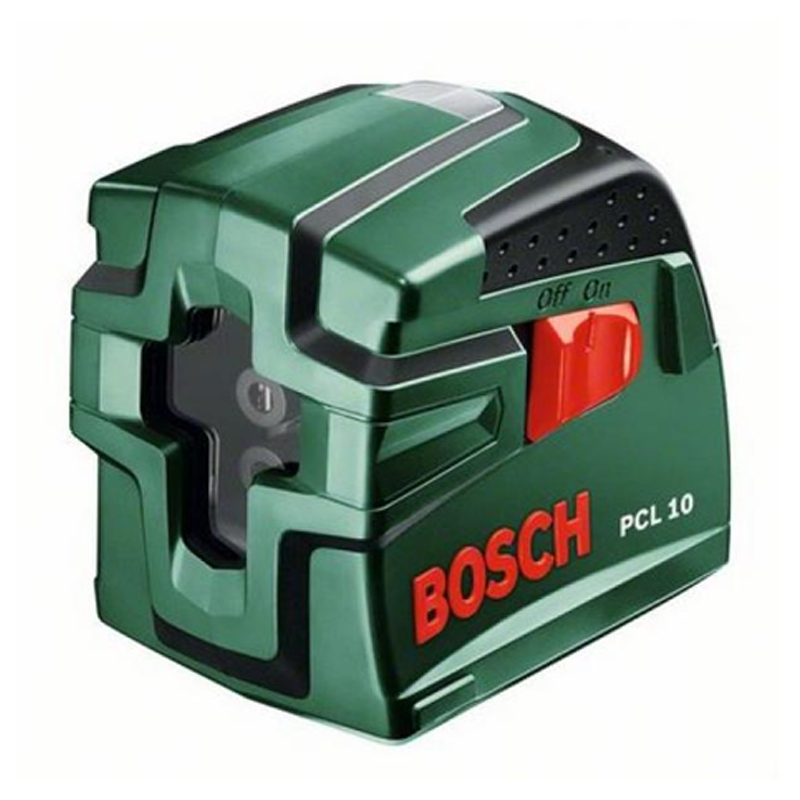 bosch pcl10 cross line laser with tripod buy tiling tools online from pro tiler tools. Black Bedroom Furniture Sets. Home Design Ideas