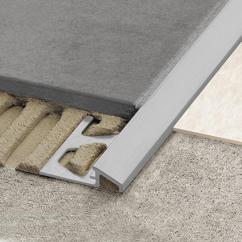 Schluter Reno Aeu Flooring Transition Ramp Matt Silver