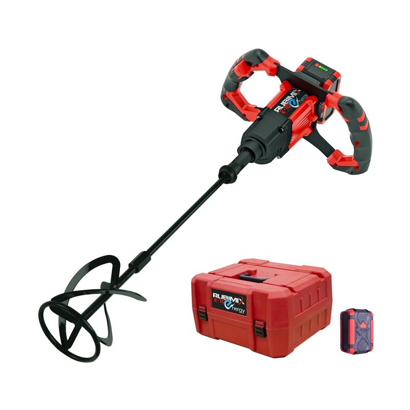 rubi rubimix e 10 energy 18v brushless cordless mixer 1 x 5 0ah batteries 26965 buy power. Black Bedroom Furniture Sets. Home Design Ideas