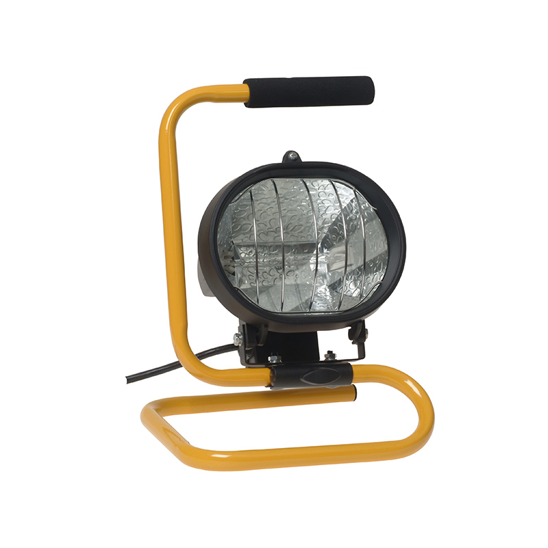 Craftsman 500 Watt Halogen Worklight: Halogen Work Light 500 Watt 110v FPPSL500CPL