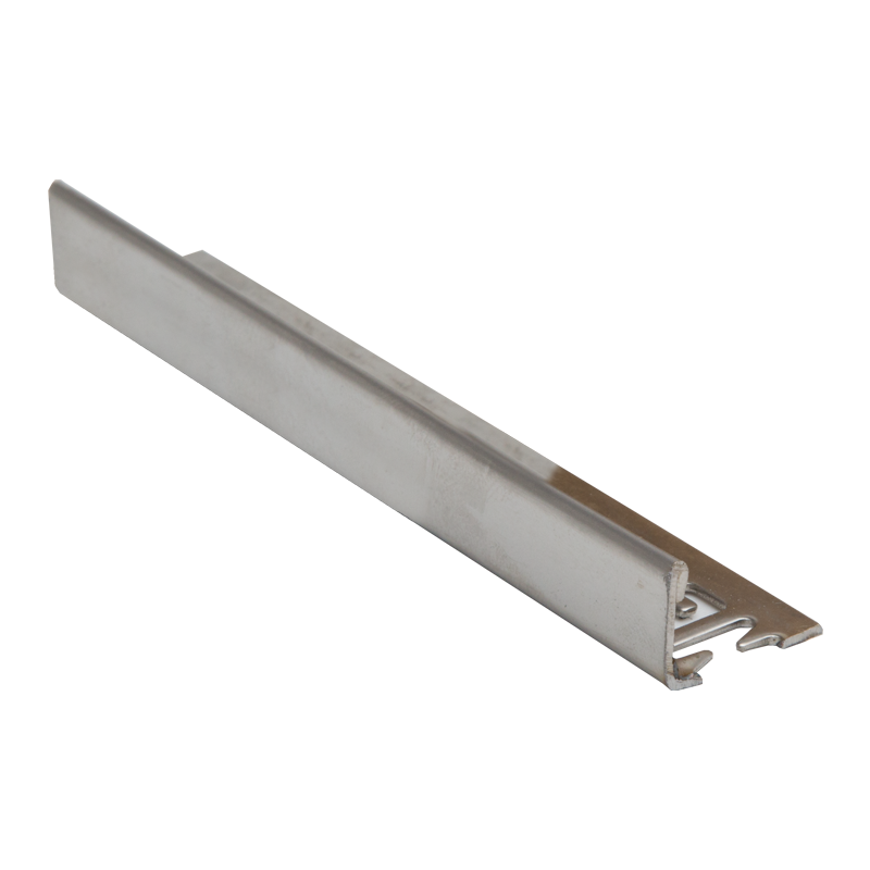 22.5mm - ESS225.84 Genesis Stainless Steel Straight Edge 304 Grade Tile Trim ESS