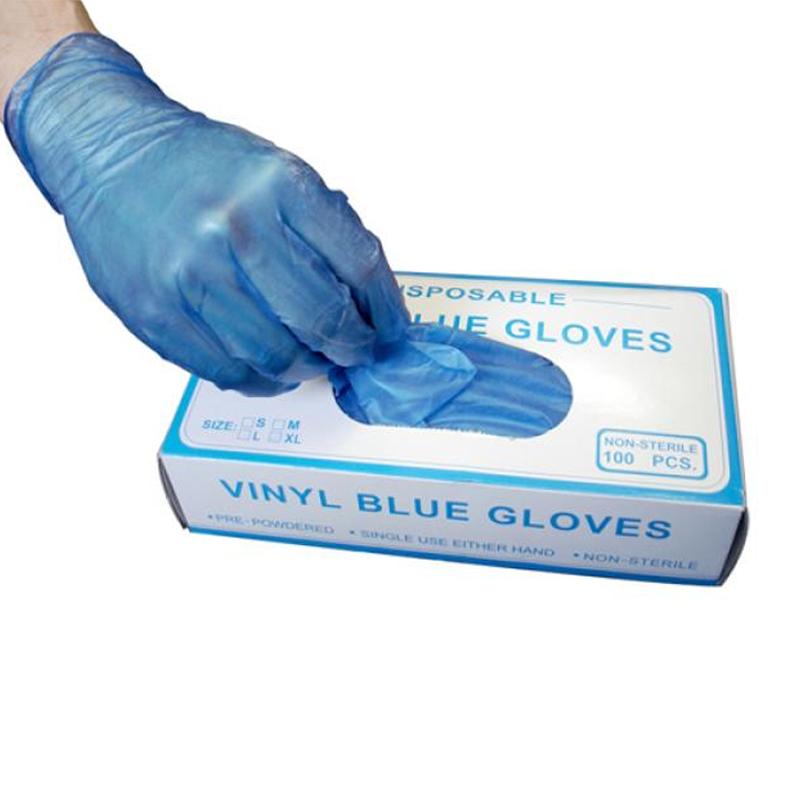 Box of 100pcs Supertouch Powderfree Vinyl Gloves Small