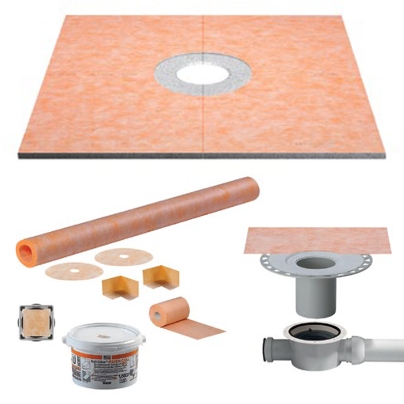 Schluter KERDI-DRAIN-H Integrated Wetroom Kit (Horizontal Waste)